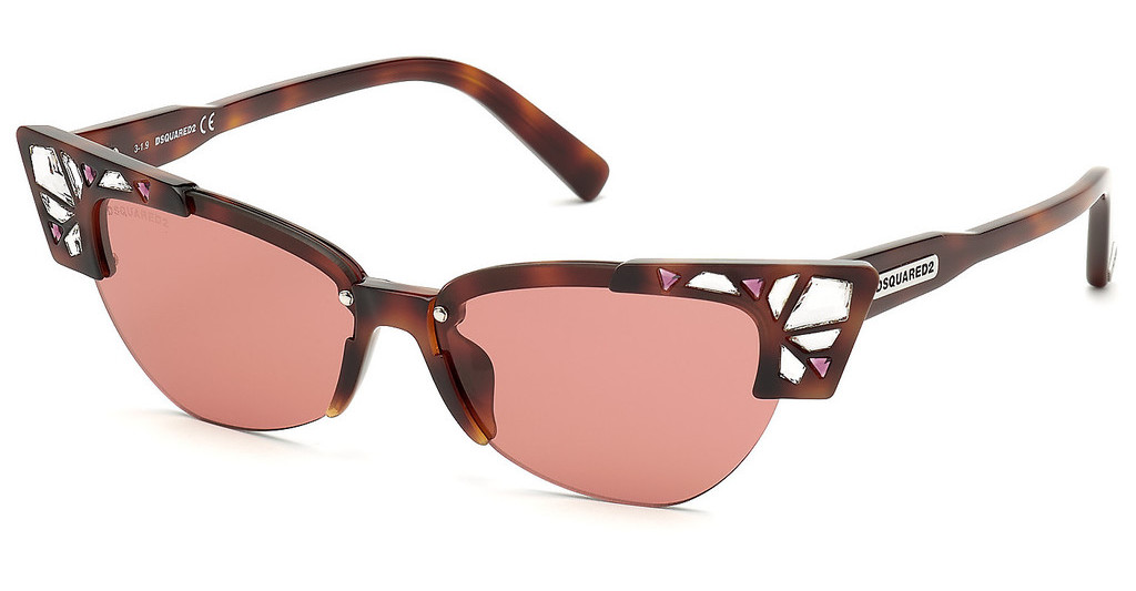 Dsquared   DQ0341 52S bordeauxhavanna dunkel