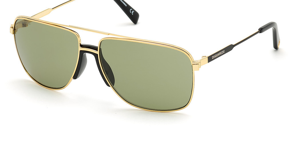 Dsquared   DQ0342 30N grüntiefes gold glanz