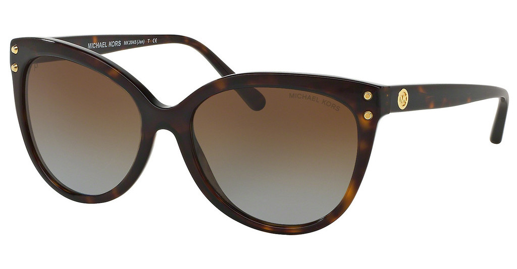 Michael Kors   MK2045 3006T5 BROWN GRADIENT POLARIZEDDARK TORTOISE ACETATE