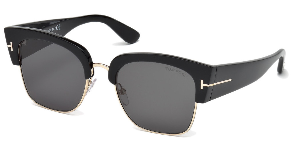 Tom Ford   FT0554 01A grauschwarz glanz
