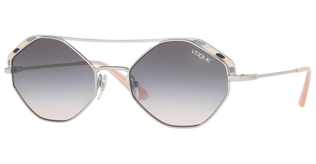 Vogue   VO4134S 323/36 PINK GRADIENT DARK GREYSILVER