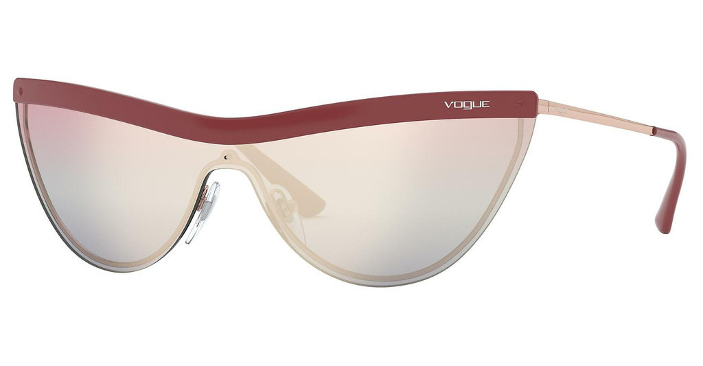 Vogue   VO4148S 50756H LIGHT BLUE/VIOLET MIRROR GOLDTOP RED/ROSE GOLD