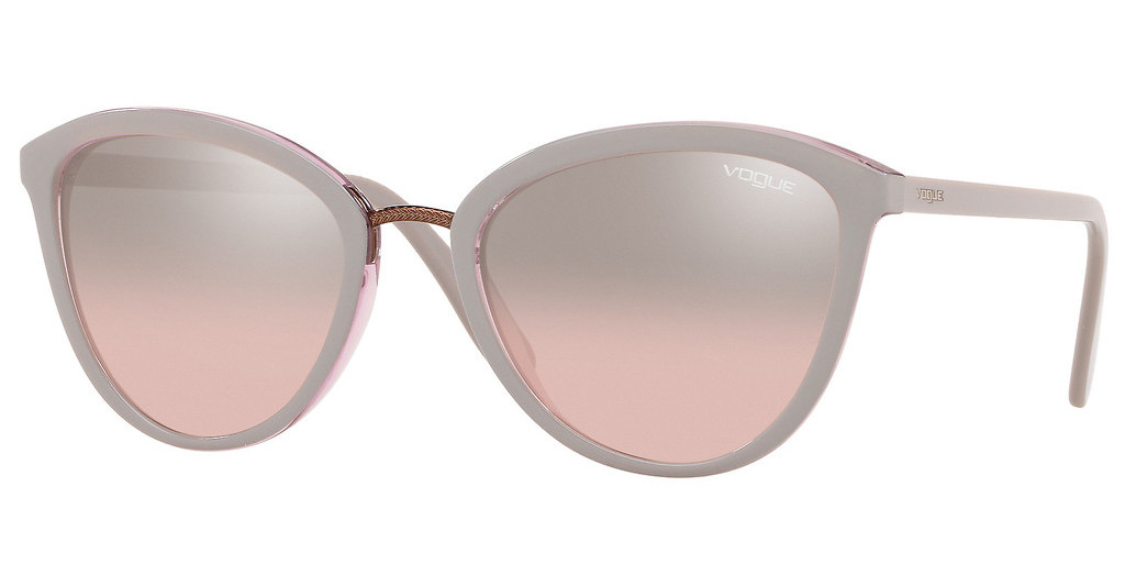 Vogue   VO5270S 27587E PINK MIRROR GRADIENT SILVERTOP GREY/TRANSPARENT PINK