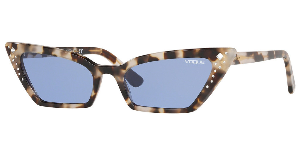 Vogue   VO5282SB 272276 DARK VIOLETBROWN GREY HAVANA