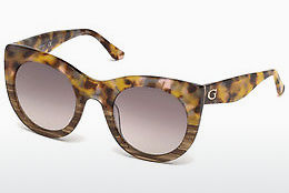 Óculos de marca Guess GU7485 53F - Havanna, Yellow, Blond, Brown