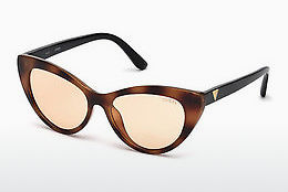 Óculos de marca Guess GU7565 53S - Havanna, Yellow, Blond, Brown