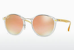 Óculos de marca Ray-Ban Round Ii Light Ray (RB4242 6288B9) - Transparente