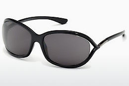 Óculos de marca Tom Ford Jennifer (FT0008 199) - Preto, Shiny