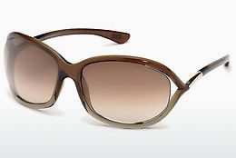 Óculos de marca Tom Ford Jennifer (FT0008 38F) - Bronze