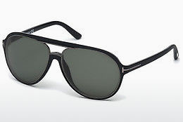Óculos de marca Tom Ford Sergio (FT0379 02R) - Preto, Matt