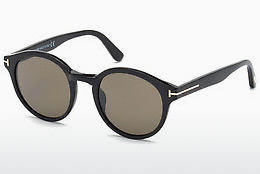 Óculos de marca Tom Ford Lucho (FT0400 01J) - Preto, Shiny