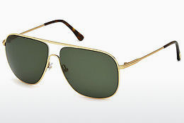Óculos de marca Tom Ford Dominic (FT0451 28N) - Dourado