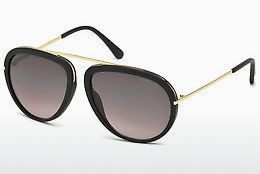 Óculos de marca Tom Ford Stacy (FT0452 02T) - Preto, Matt