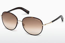 Óculos de marca Tom Ford Georgia (FT0498 52F) - Castanho, Dark, Havana
