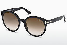 Óculos de marca Tom Ford Philippa (FT0503 01G) - Preto, Shiny