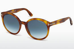 Óculos de marca Tom Ford Philippa (FT0503 53W) - Havanna, Yellow, Blond, Brown