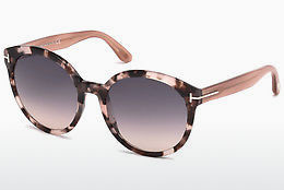 Óculos de marca Tom Ford Philippa (FT0503 56B) - Havanna