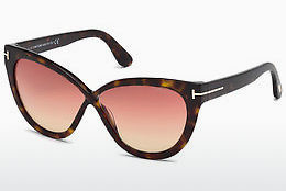 Óculos de marca Tom Ford Arabella (FT0511 52B) - Castanho, Dark, Havana