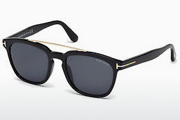 Óculos de marca Tom Ford Holt (FT0516 01A) - Preto, Shiny