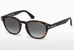 Óculos de marca Tom Ford Von Bulow (FT0521 52B) - Castanho, Dark, Havana