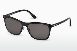 Óculos de marca Tom Ford Alasdhair (FT0526 02A) - Preto, Matt