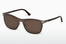 Óculos de marca Tom Ford Alasdhair (FT0526 48J) - Castanho, Dark, Shiny