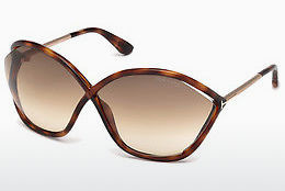 Óculos de marca Tom Ford Bella (FT0529 53F) - Havanna, Yellow, Blond, Brown