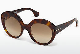 Óculos de marca Tom Ford Rachel (FT0533 53F) - Havanna, Yellow, Blond, Brown