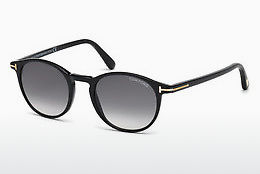 Óculos de marca Tom Ford Andrea (FT0539 01B) - Preto, Shiny