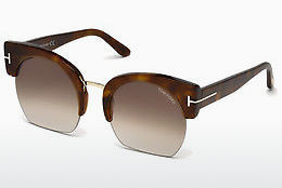 Óculos de marca Tom Ford Savannah (FT0552 53F) - Havanna, Yellow, Blond, Brown