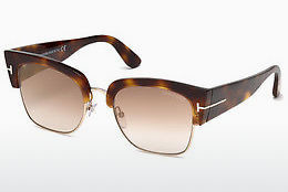 Óculos de marca Tom Ford Dakota (FT0554 53G) - Havanna, Yellow, Blond, Brown