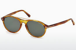 Óculos de marca Tom Ford Cameron (FT0556 53N) - Havanna, Yellow, Blond, Brown