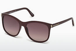 Óculos de marca Tom Ford FT0567 69T - Bordeaux, Bordeaux, Shiny