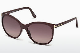 Óculos de marca Tom Ford FT0568 69T - Bordeaux, Bordeaux, Shiny