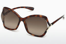 Óculos de marca Tom Ford FT0579 53K - Havanna, Yellow, Blond, Brown