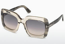 Óculos de marca Tom Ford FT0580 59B - Corno, Beige, Brown