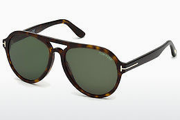 Óculos de marca Tom Ford FT0596 52N - Castanho, Dark, Havana