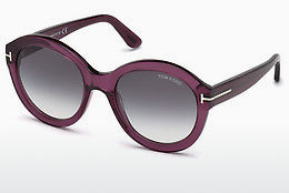 Óculos de marca Tom Ford FT0611 69B - Bordeaux, Bordeaux, Shiny
