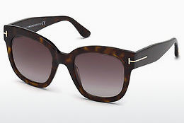 Óculos de marca Tom Ford FT0613 52T - Castanho, Dark, Havana