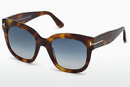 Óculos de marca Tom Ford FT0613 53W - Havanna, Yellow, Blond, Brown