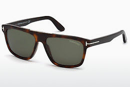 Óculos de marca Tom Ford FT0628 52N - Castanho, Dark, Havana