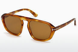 Óculos de marca Tom Ford FT0634 53E - Havanna, Yellow, Blond, Brown