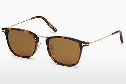 Óculos de marca Tom Ford FT0672 53E - Havanna, Yellow, Blond, Brown