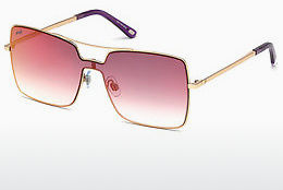 Óculos de marca Web Eyewear WE0201 34Z - Bronze, Bright, Shiny