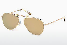 Óculos de marca Web Eyewear WE0206 34G - Bronze, Bright, Shiny