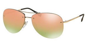 Prada Sport PS 50RS ZVN5L2 GREY MIRROR ROSE GOLDPALE GOLD