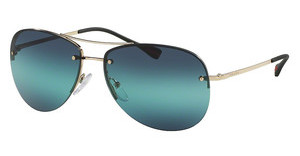 Prada Sport PS 50RS ZVN5T2 BLUE GRADIENTPALE GOLD