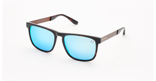 Dieter Bohlen EDITION 1 4 light blue mirrorhavanna-brown