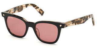 Dsquared DQ0339 05S bordeauxschwarz