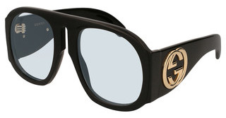 Gucci GG0152S 001 LIGHT BLUEBLACK